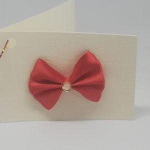 Поклон картица машна